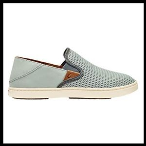 olukai pehuea mesh slip on sneakers 10